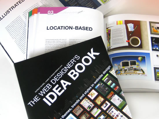"cover of 'the web designer's ideas book"""